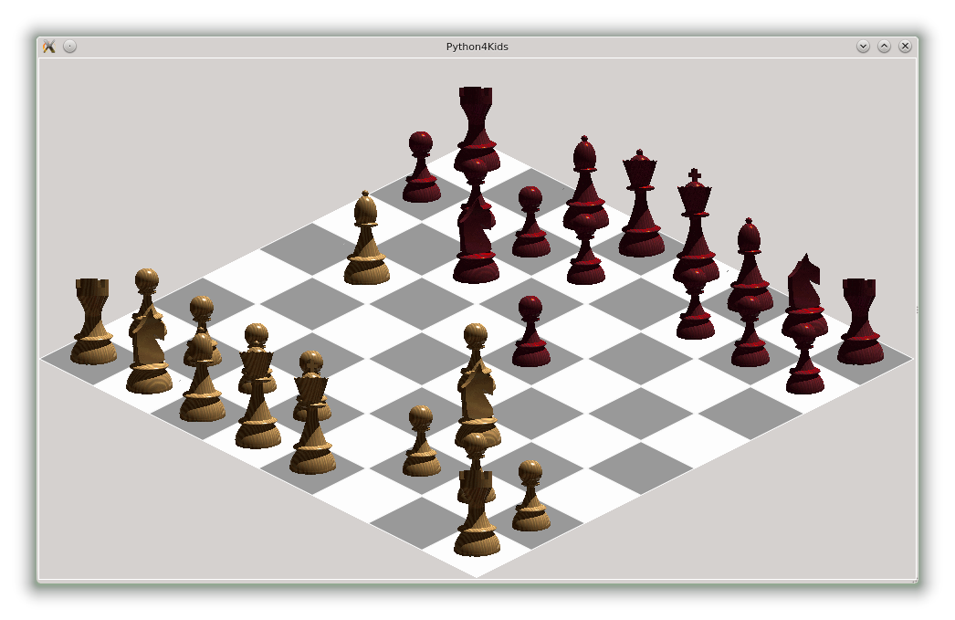 Drawing Lines With Tkinter : Yet another view of chess python tutorials for kids